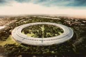 Так будет выглядеть новый кампус Apple