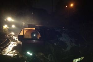 Возгорание случилось утром 20 октября