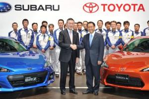 Новые купе Toyota и Subaru делают на одном заводе