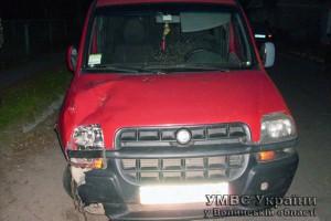 Водитель находился в состоянии алкогольного опьянения