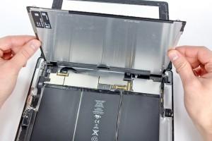 Сразу за экраном — батареи