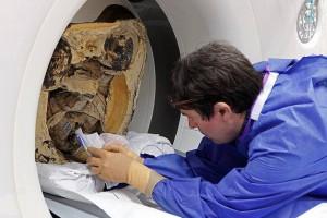Исследования мумии