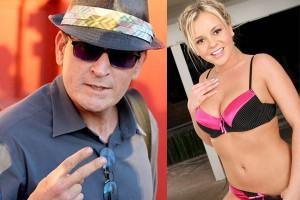 Одна из красоток - звезда порно Бри Олсон
