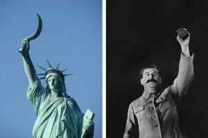 Фото со Статуей Свободы и Сталиным тоже оказались «подлинными»