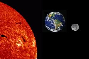 По теории целостного захвата, Луна «примагнитилась» к Земле