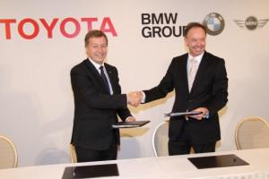 BMW будет поставлять Тойоте свои дизели