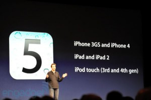 iOS 5 можно поставить на iPhone, iPad и iPod