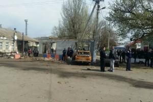 В Новоалексеевке взорвался автомобиль