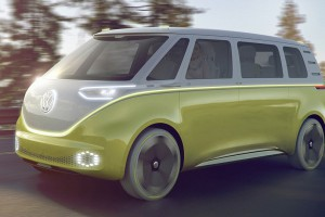 Прототип электрического минивэна от Volkswagen