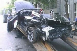 BMW M6 влетел в Жигули