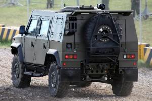 Рысь - российский вариант Iveco LMV