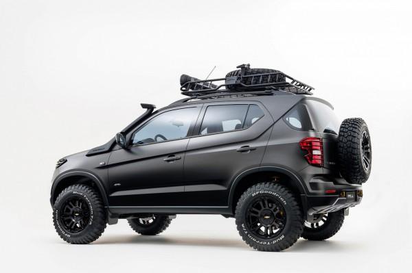Прототип внедорожника Chevrolet Niva следующего поколения