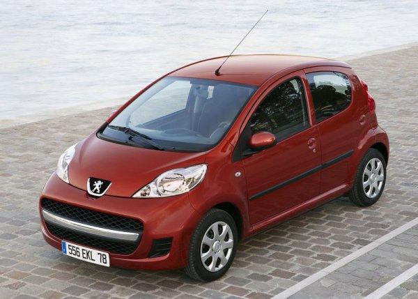 Peugeot 107 – единственный европейский автомобиль стоимостью ниже $10 тысяч
