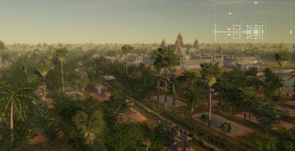 Руины строений кхмерской цивилизации