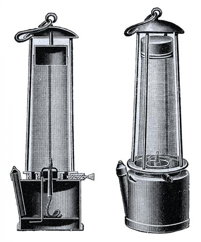 Безопасная лампа