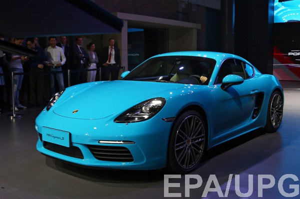 Porsche в Пекине