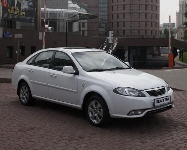 Daewoo Gentra заменит в Украине Lacetti