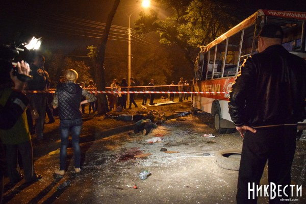 ДТП с маршруткой в Николаеве
