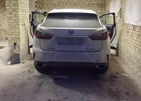 Похищенный  Lexus RX