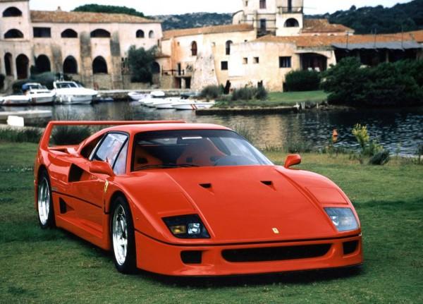 Так выглядит настоящий Ferrari F40 1987 года