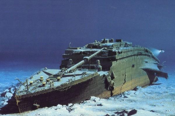 Обломки Титаника