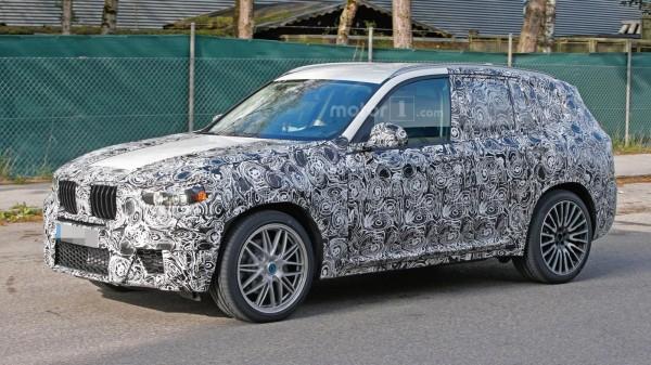 Кроссовер BMW X3 M впервые замечен на тестах