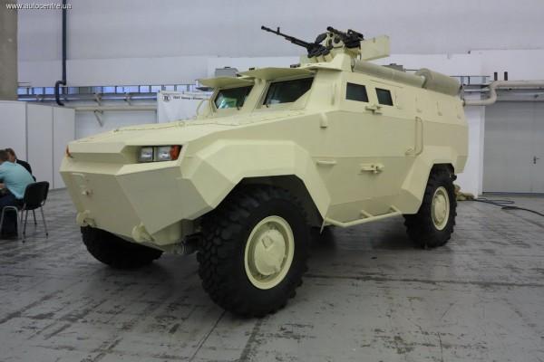 Новый украинский броневик Тритон