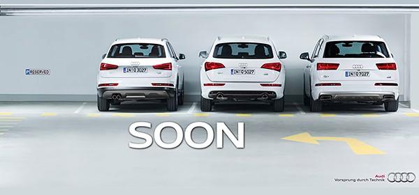 Тизерная реклама Audi