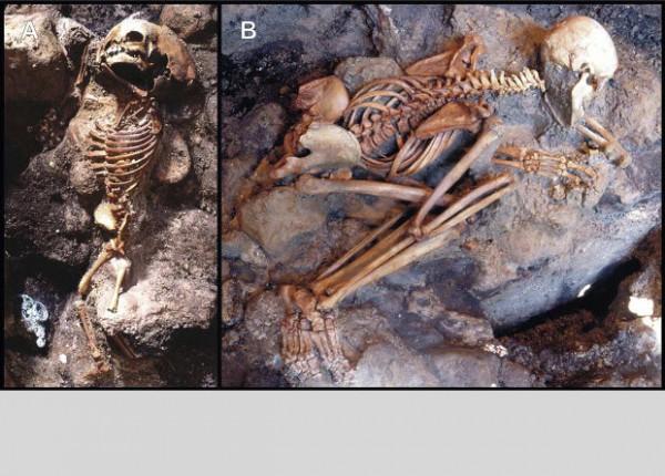 У скелетов нашли налет железа