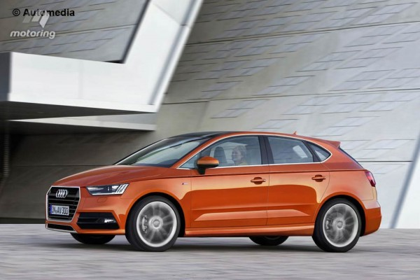 Предполагаемый внешний вид Audi A3 Vario