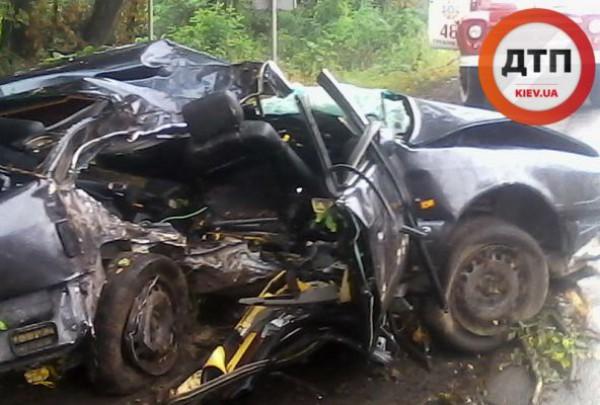 Авария на трассе под Киевом