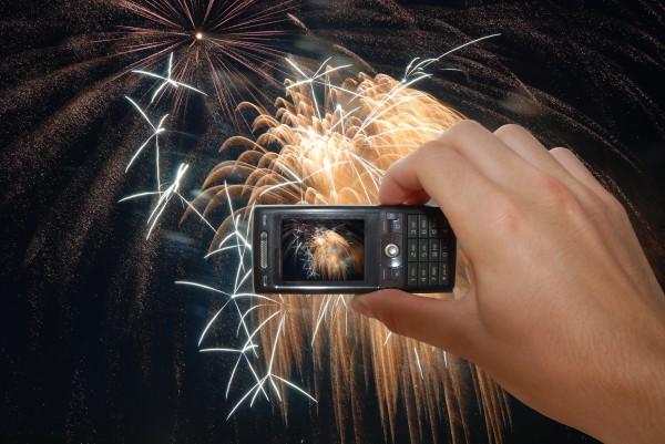 Как сфотографировать фейерверк на телефон