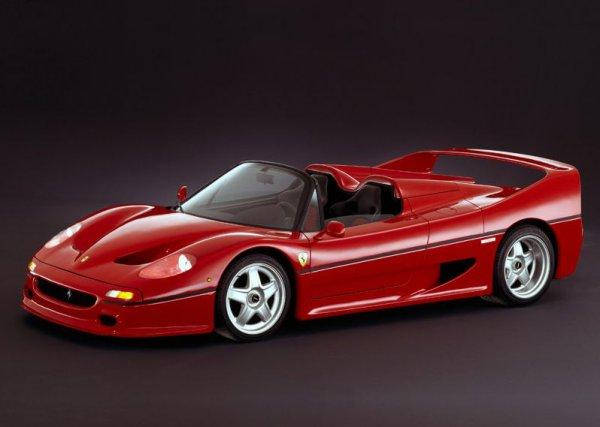 Так выглядит новый Ferrari F50