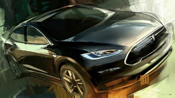 Нас ждет новый кроссовер от Tesla