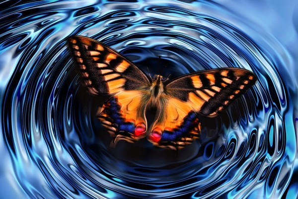 Эффекта бабочки в квантовом мире нет