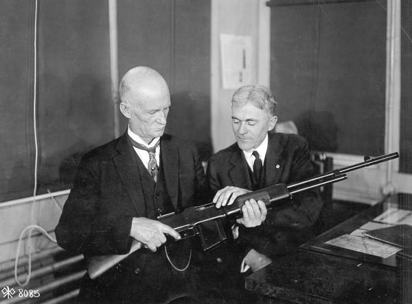 Браунинг с винтовкой M1918