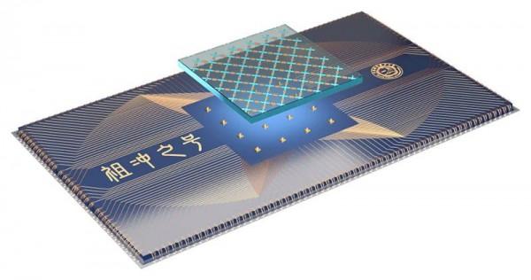 Схема проектирования квантового процессора Цзучунчжи