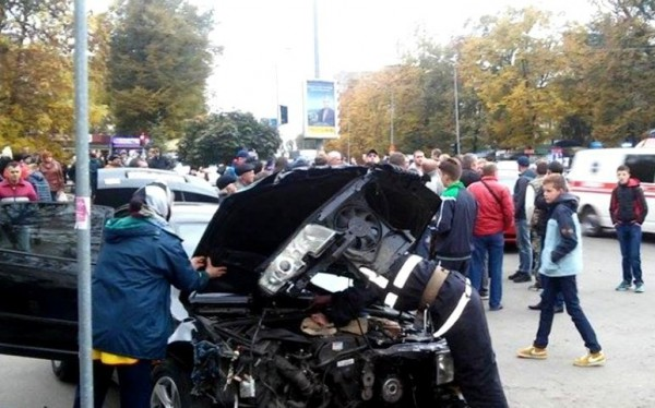 В Ивано-Франковске произошло масштабное ДТП