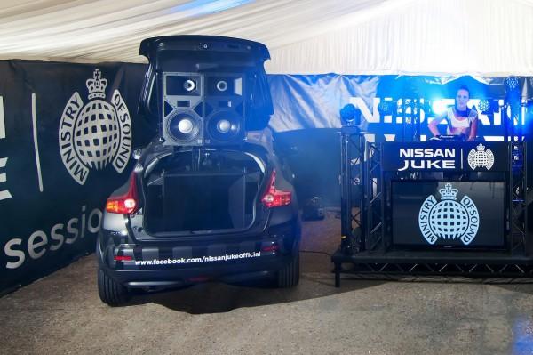 Nissan Juke Box – прототип лимитированной серии от Ministry of Sound