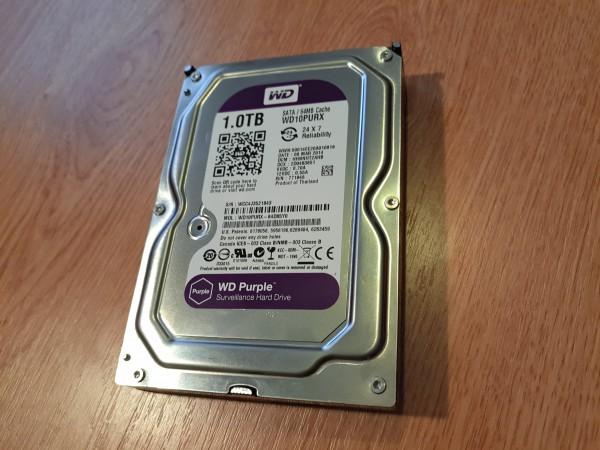 Western Digital Purple 1 ТБ