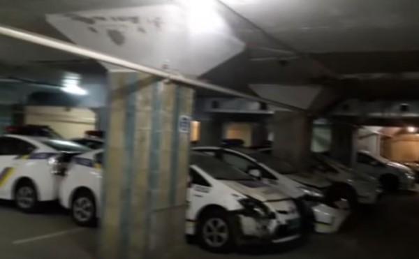 Кладбище полицейских авто
