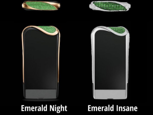 Savelli-Gemfields Emerald Insane и Emerald Night —  $244 000