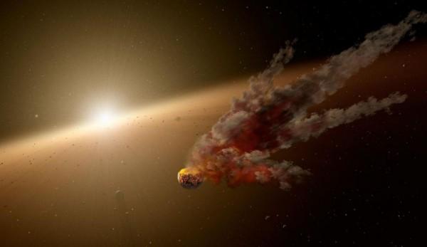 Астероид пролетит на сочельник