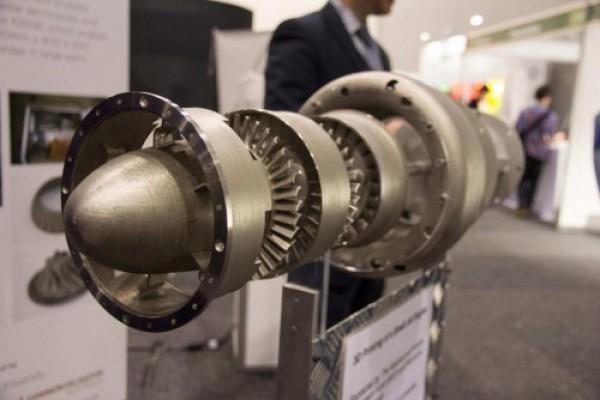 Напечатанный реактивный двигатель