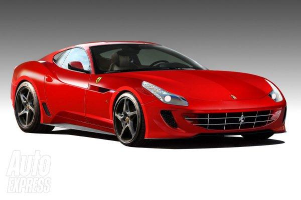 Новый Ferrari 599 будет похож на FF и 458 Italia