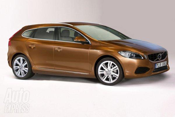 Иллюстрация новой пятидверной модели Volvo