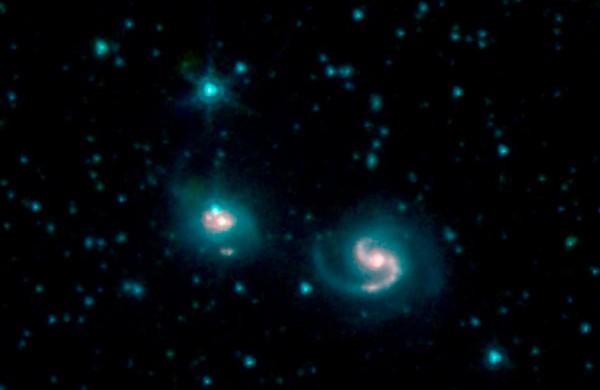 NGC 6786 (справа) and UGC 11415 (слева)