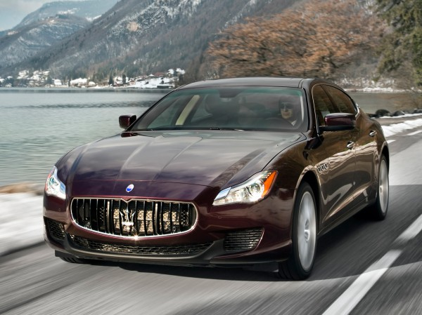 Столичное Автошоу 2013: Maserati Quattroporte