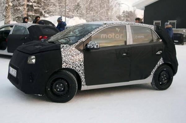 Kia вывела на тесты новое поколение Picanto