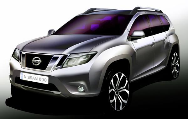 Новый Nissan Terrano стал кроссовером